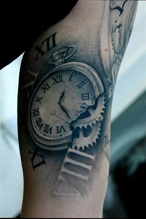 stopwatch tattoo pin by christian michael on ink