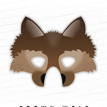 printable werewolf mask best halloween props for photo booth products on wanelo