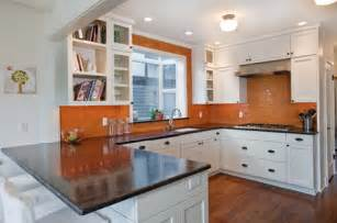 Peach Kitchen Ideas by Orange Kitchen In The Interior Best Of Interior Design