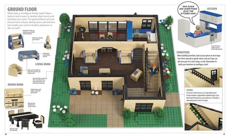 lego house floor plan the lego ideas book unlock your imagination daniel