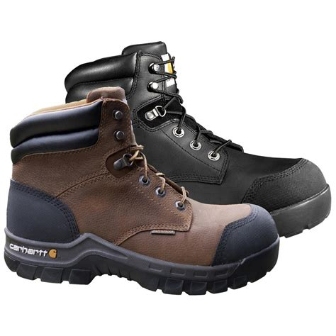 rugged work boots carhartt 6 quot rugged flex waterproof composite toe work boots 627338 work boots at sportsman s