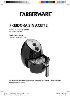 farberware  quart oil  multi functional air fryer