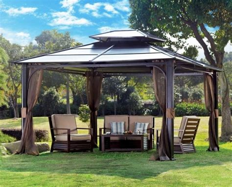 patio canopy gazebo 20 beautiful yards with outdoor canopy designs