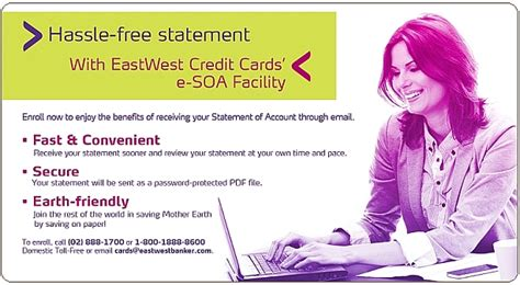 East West Bank Letter Of Credit Eastwest Bank Credit Cards Esoa Terms Conditions Eastwestbanker