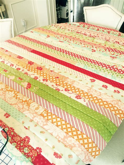 Jelly Roll Decke by Jelly Roll Quilt Patterns Images