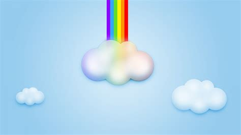 wallpaper rainbow cartoon cartoon rainbow wallpaper 964441