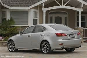 2008 lexus is 350 since mid year 2007 for america
