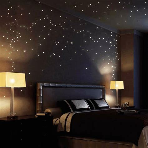 starry bedroom starry sky wallsticker design home design garden