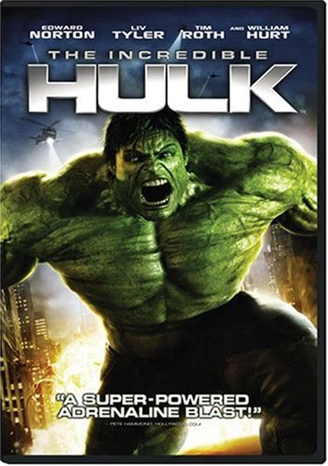 The Incredible Hulk 2008 Film Film The Incredible Hulk Award Annals Database