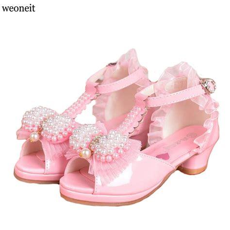cheap dress sandals children princess sandals wedding shoes high