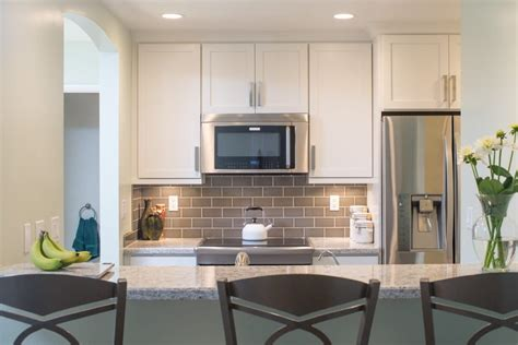 bathroom tile work kitchen cabinets kitchen remodeling la jolla condo kitchen remodel with white cabinets and
