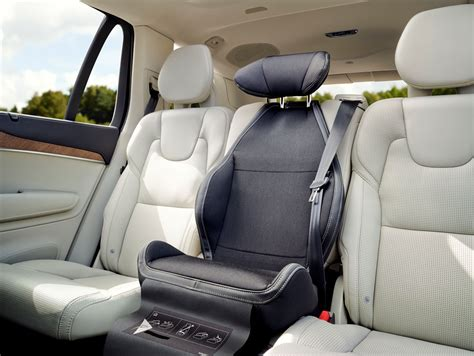 volvo cars celebrates  anniversary   integrated booster cushion volvo car group