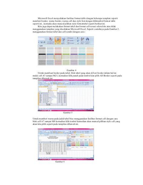 membuat makalah microsoft excel makalah microsoft excel 2007