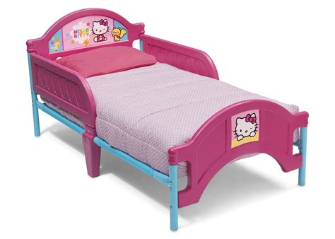 kitty bed hello kitty plastic toddler bed delta children s products