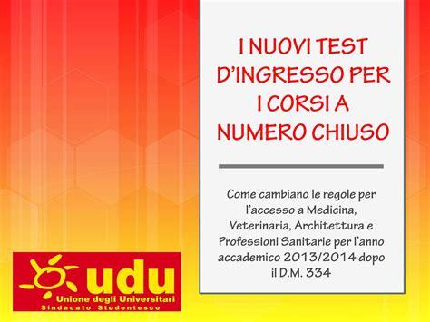 test d ingresso medicina veterinaria il nuovo test di ingresso per i corsi a numero chiuso