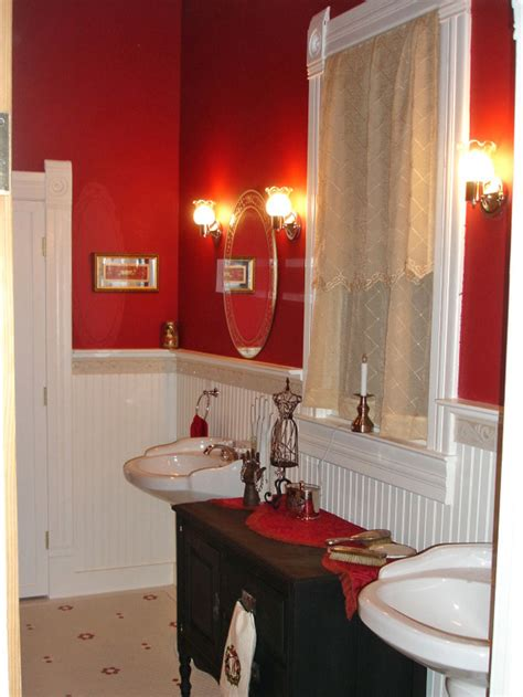 red decor 81 bathroom decor red stunning red bathroom