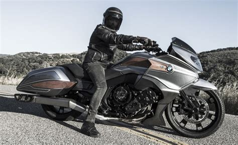 bmw reveals concept 101 k1600 bagger motorcycle news