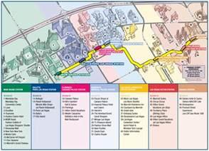 Las Vegas Tram Map by Las Vegas Monorail Map Metro Mapsof Net