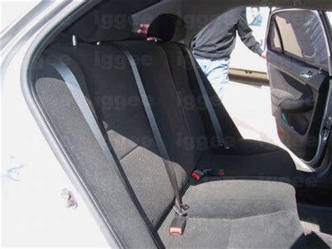 2002 honda accord seat covers honda accord 1998 2002 leather like custom seat cover ebay