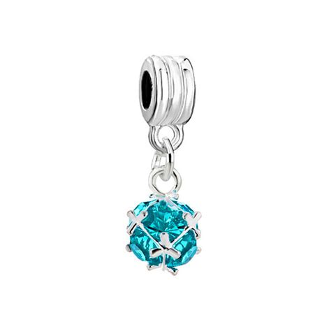 pandora charms birthstone march pandora outlet