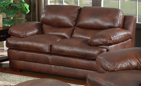Baron Brown baron brown loveseat from leather italia 1831 s2892