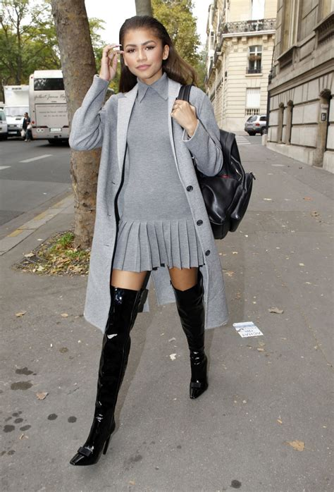 zendaya coleman style 2015 zendaya coleman out and about in paris 10 03 2015 hawtcelebs