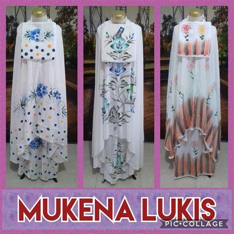 Mukena Bali Dewasa Mukena Murah distributor mukena bali lukis dewasa murah surabaya 75ribu