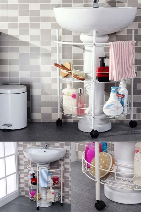 life hacks storage 31 amazingly diy small bathroom storage hacks help you