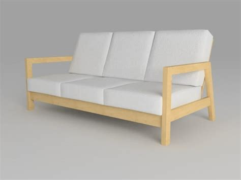lillberg loveseat 3d sofa lillberg model