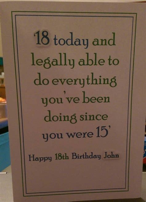 ideas 18 year boy best 25 18th birthday cards ideas on 18th