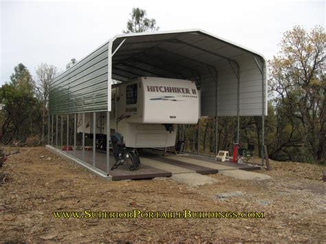 carport wohnmobil rv carports carports for recreational vehicles