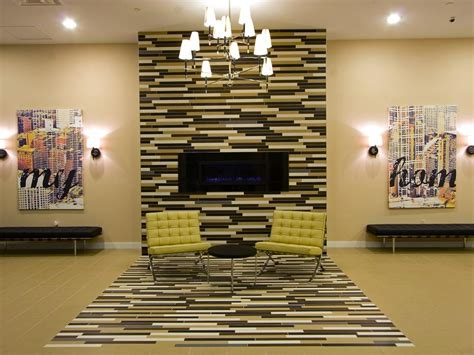 Dining Room Tiles Wall Design 10 Colorful Tile Fireplaces Hgtv