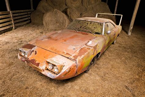 Finds For by Barn Find Daytona Sells For 90 000 Owner Preserving As