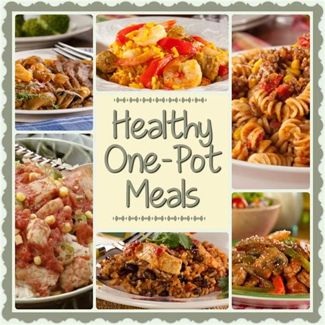 one pot recipes for dinner healthy one pot meals 6 easy diabetic dinner recipes