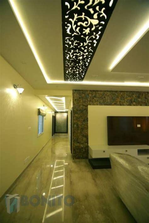 living room passage area false ceiling design asian modern