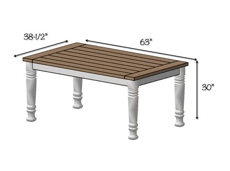 free dining table plans for dining table free image mag