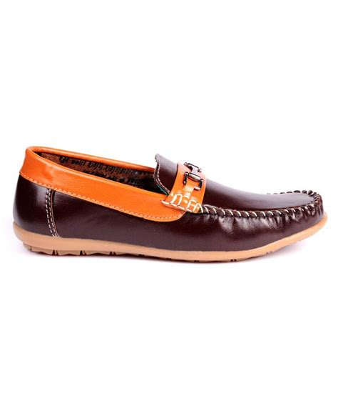 loafers for boy trilokani brown loafers for boys price in india buy