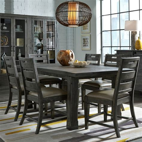 abington  piece dining room table   side chairs