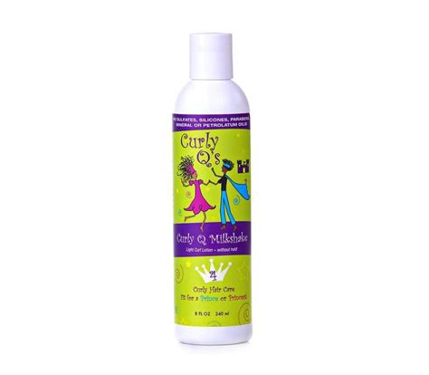 hair thickening products for curly hair curly q milkshake curl styling lotion for kids curls