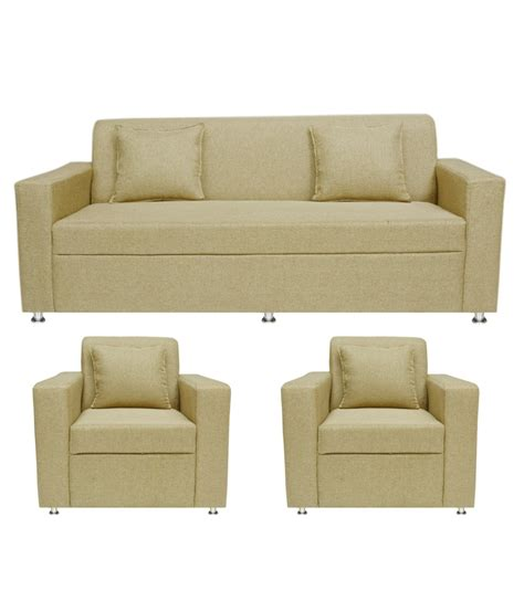 Sofa Set Shopping In India by Bls Lexus 3 1 1 Seater Sofa Set Rs 13 999 Gold Deals4m