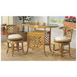 3 pc rattan bistro set 101940 kitchen dining at