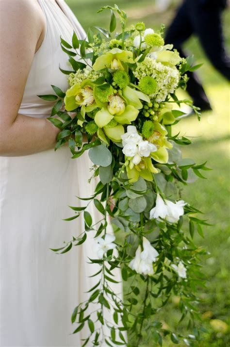68 best Green Bouquets images on Pinterest   Wedding