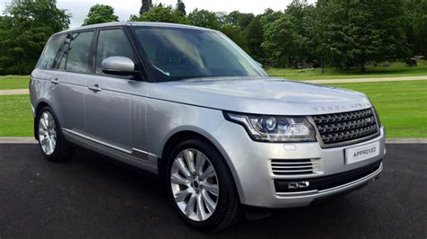 range rover silver land rover range rover 3 0 tdv6 vogue 4dr diesel automatic