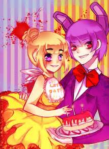 Fnaf chica and bonnie speedpaint by mahoumint on deviantart