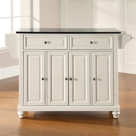 kitchen island white shop crosley furniture white craftsman kitchen island at lowes