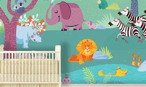 carta da parati bambini le nuove carte da parati bambini di baby interior design