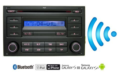 volkswagen rcd200 bluetooth music kit for