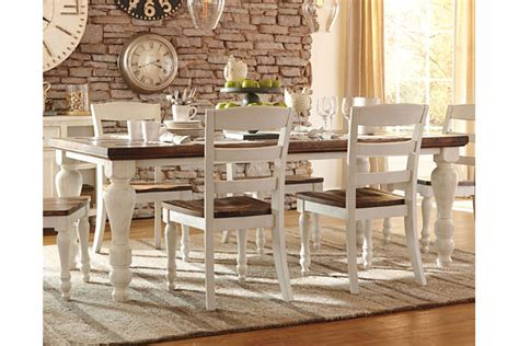 Large Kitchen Island Ideas marsilona dining room table ashley furniture homestore