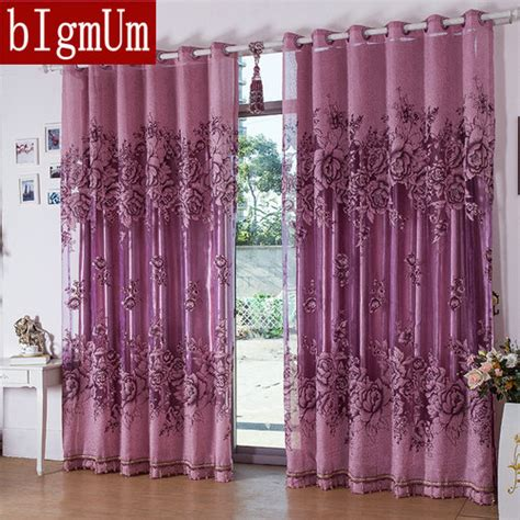 cheap purple curtains online get cheap purple window curtains aliexpress com