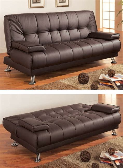 Coaster Sofa Sleeper Coaster Faux Leather Convertible Sofa Coaster Sofa Sleeper